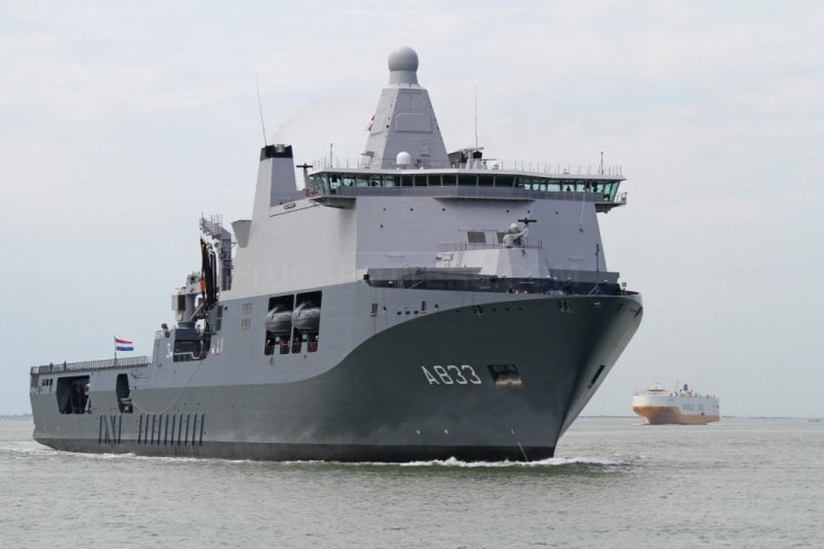 Karel Doorman in Joint Expeditionary Force